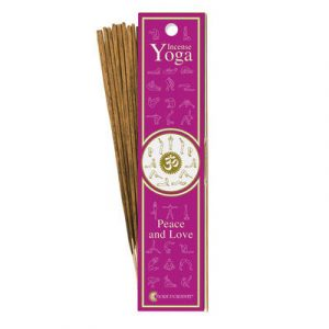 Piece and Love Yoga Incense
